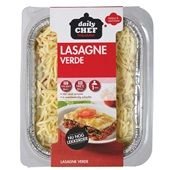 Daily Chef lasagne verde voorkant