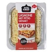 Daily Chef lasagne pittig gehakt voorkant