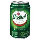 Grolsch Bier Pils Blik 33cl achterkant