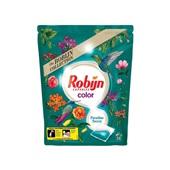 Robijn wascapsules 2 in 1 caps paradise secrets voorkant
