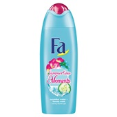 Fa summertime moments douche cucumber water & freesia scent voorkant