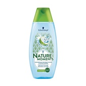 Nature Moments shampoo Indonesian cocnut & lotus flower voorkant