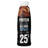 Melkunie protein melk drank chocolade voorkant