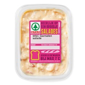 Spar salade garnalen surimi voorkant