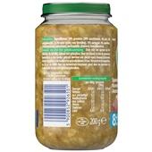 Olvarit Baby/Peuter Maaltijd Sperziebonen, Aardappelen En Rundvlees achterkant