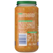 Olvarit Baby/Peuter Maaltijd Wortel, Kalfsvlees En Aardappel achterkant
