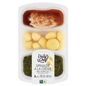 Daily Chef spinazie met kipfilet en krieltjes voorkant