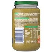 Olvarit baby/peuter maaltijd broccoli, kalkoen en rijst achterkant