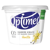 Optimel kwark vanille voorkant