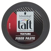 Taft Carbon Force Haarstyling Texturising Fiber Paste achterkant