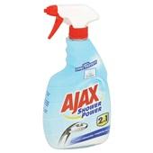 Ajax reinigingsspray shower power  achterkant