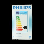 Philips halogeenlamp ecoclassic E27/18W achterkant