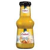 Calvé honing mosterd saus voorkant