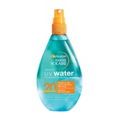 Ambre Solaire zonnebrand uv-water factor 20 voorkant