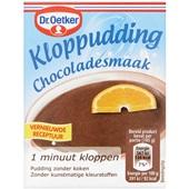 Dr. Oetker Kloppudding Chocolade voorkant