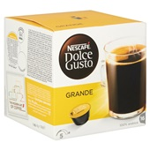 Nescafé Dolce Gusto Koffie Cafe Crema achterkant