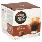 Nescafé Dolce Gusto koffiecapsules Lungo Intenso achterkant