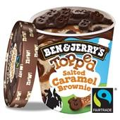Ben&Jerry Salted caramel brownie achterkant