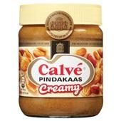 Calvé pindakaas creamy voorkant