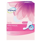 Tena Lady Incontinentie Inlegkruisjes Mini Magic achterkant