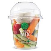 Spar groentemix met yoghurtdip voorkant