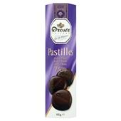 Droste chocoladepastilles extra puur voorkant