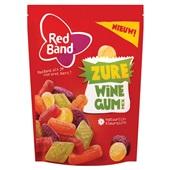 Red Band snoep zure winegum mix voorkant