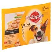 Pedigree Hondenvoer Kip, Rund En Groenten in Saus achterkant