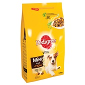 Pedigree vital protection hondenvoer mini brokken met kip en groenten achterkant