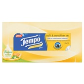 Tempo tissues soft & sensitive plus voorkant