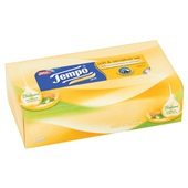 Tempo tissues soft & sensitive plus achterkant