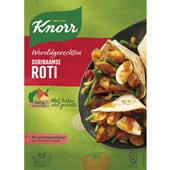 Knorr wereldgerecht Surinaamse roti voorkant