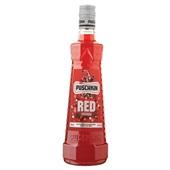 Puschkin red vodka voorkant