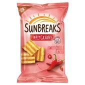 Lay's Sunbreaks wavy grains sweet chili voorkant