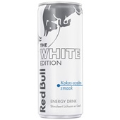 Red Bull white edition voorkant