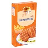 Mora hamburger achterkant