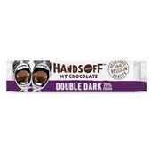 Hands Off My Chocolate chocoladereep double dark  voorkant