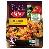 Iglo roerbaksensatie kip tandoori voorkant