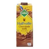 Melkan chocolademelk halfvol voorkant