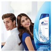Head & Shoulders shampoo Classic achterkant