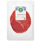 Spar runderrookvlees voorkant