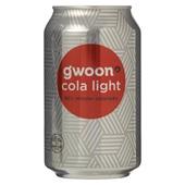 Gwoon cola light voorkant