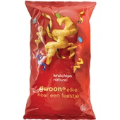 Gwoon krulchips naturel voorkant