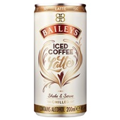 Baileys iced coffee latte voorkant