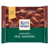 Ritter Sport chocolade hele amandel voorkant