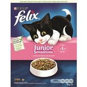 Felix kattenbrokken  junior sensations voorkant