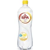 Spa Bruisend & Citroen Mineraalwater Fles 1 Liter voorkant