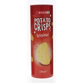 Spar potato crisps naturel voorkant