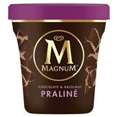 Ola Magnum pint hazelnoot praline voorkant