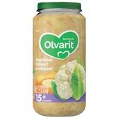 Olvarit baby/peuter maaltijd bloemkool, kalkoen en aardappel voorkant